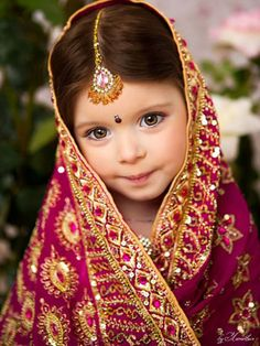 Little Angels as Flower Girls-Infuse irresistable cuteness in your wedding by dressing your little flower girls traditionally. Here are some incredible looks. #shaadi #shaadimagazine #flowergirls
