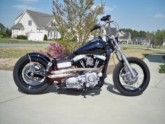 Sick Custom Dyna Wide Glide | ... » Harley Davidson Motorcycle Models » Dyna Glide » Awesome