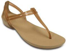 Women's Crocs Isabella T-strap Sandal - Angle