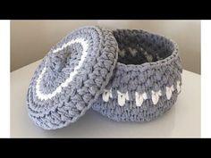 Penye Rope Basket Making Narrated Video Baby Knitting Patterns, Knitting Yarn, Crochet Patterns, Quick Crochet Gifts, Tatting Jewelry, Crochet Coat, How To Start Knitting, Crochet Handbags, Crochet Videos