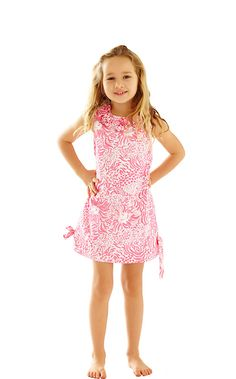 Girls Little Lilly Classic Shift Dress - Lilly Pulitzer