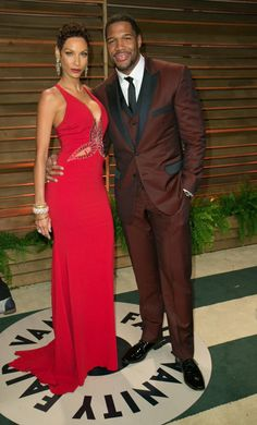 Nicole and Michael Black Couples, Cute Couples, Power Couples, Celebrity Couples, Celebrity Style, Look Fashion, Fashion Show, Nicole Murphy, Yolanda Foster