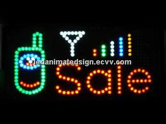 Indoor Advertising Led Illuminated Sign Colorful (Illuminated Led Advertising Sign) - China LED Colorful Light;LED Moving Message Sign;Le...