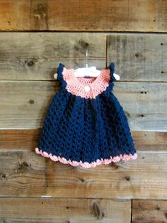 Crochet Baby Girl Summer/WInter Dresses