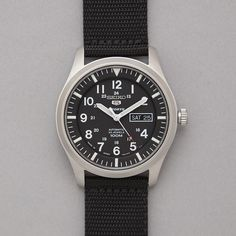 Seiko Made In Japan Military Watch in Black
