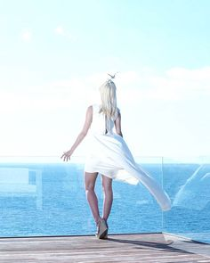 """""""It took me quite some time to develop a voice, and now that I have it, I am not going to be silent."""" - Sheryl Sandberg . #freedom #quote #inspiration #happyweekend #ootd #costabrava #liberty #blogger #fashionblogger #dress #happiness #peaceful #views #ocean #spain #tossademar #summer #positivevibes"""
