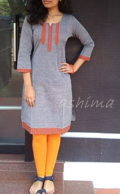 Cotton Kurta-Code:2209151 Price INR:690/- All sizes available. Free shipping to all courier destinations in India. Online payment through PayUMoney / PayPal