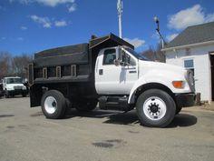 2011 Ford F650 - Dump Truck Exchange Ford Trucks For Sale, Air Seat, Ford F650, Air Brake, Dump Trucks, Engine Types, Cummins, Cruise, Trucks