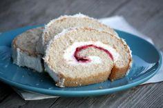 Kokosová roláda - recept, Coconut rollcake