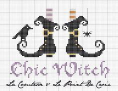 La Comtesse & Le Point De Croix: Chic Witch... free pattern