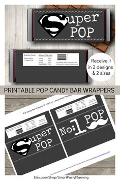 Looking for a grandpa gift from the kids? He is going to love these candy bar wrappers, which make the perfect fathers day gift or for pops birthday. This is an easy DIY gift that the kids will love creating and grandpa will love receiving. This is the kind of homemade gift that everyone wants to receive.
