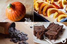 Kuchařka ze Svatojánu: DÝŇOVÉ BROWNIES Brownies, Muffin, Breakfast, Recipes, Food, Hokkaido, Cake Brownies, Morning Coffee, Essen