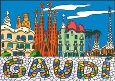 A presentations about Gaudi, to intrudece his lofe and artwork to kids. Gaudi Mosaic, Mosaic Art, Projects For Kids, Art Projects, Antonio Gaudi, Art Party, Art Challenge, Art Plastique, Teaching Art