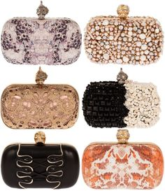 i adore these clutches.