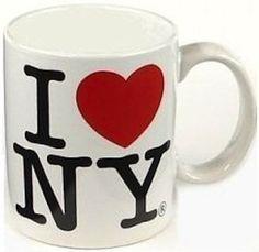 Amazon.com: I Love New York Mug - White, New York Mugs, New York Souvenirs, NYC Coffee Mugs: Home & Kitchen