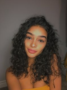 Brazilian Virgin Human Hair Full Lace Wigs Deep Wave With Baby Hair Hair Inspo, Hair Inspiration, Curly Hair Styles, Natural Hair Styles, Instagram Baddie, Natural Curls, Natural Face, Pretty Face, Lace Wigs