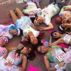 White tutus for the color run? I think yes! February 2013 cannot get here fast enough!