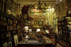 Beautiful bookstore in Istanbul