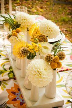 60 Cheerful Billy Balls Yellow Wedding Ideas | http://www.deerpearlflowers.com/billy-ball-yellow-wedding-ideas/