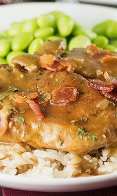 Slow Cooker Smothered Pork Chops http://papasteves.com/blogs/news/7295596-whats-the-perfect-body-fat-percentage-when-trying-to-build-muscle