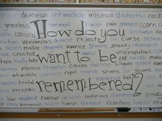 The home of #EraseMeanness, a student driven movement to erase meanness in their lives and replace it with kindness.