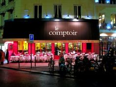 Le Comptoir du Relais - my favourite local ! Paris isn't the same without many a VERY long lunch here