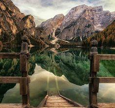 Lago di Braies Italy