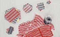 1954 textile design by Alvar Aalto