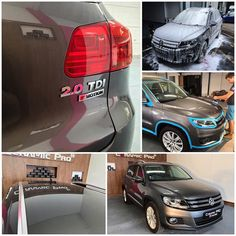Volkswagen Tiguan underwent paint correction and was protected with Ceramic Pro 9H and Ceramic Pro Light. #Ceramicpro #automotive #nanoceramic #paintprotection #nanoprotection #nanocoating #ceramiccoating #paintcoating #detailing #england #london #volkswagen