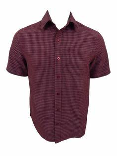 Tony Hawk Shirt Size S Small Short Sleeve Plaid  #Hawk #ButtonFront