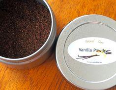 Homemade Vanilla Powder | Gravel & Dine