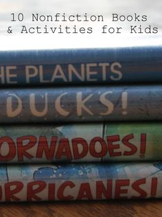 10 nonfiction book and activity pairs: Gail Gibbons virtual book club for kids