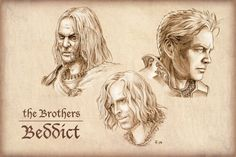 The Brothers Beddict from Malazan Book of the Fallen
