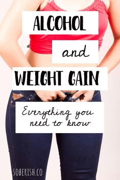 Alcohol causes weight gain and not just because of the calories. It slows your metabolism and impair Quit Drinking Alcohol, Quitting Alcohol, Weight Gain Journey, Weight Loss Tips, Alcohol Weight Gain, Stress Weight Gain, Giving Up Alcohol, No Alcohol, Alcohol Detox