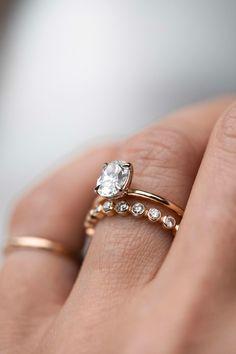 Eternity bezeled diamond band. #considerthewldflwrs