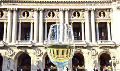 Opéra garnier in the glass