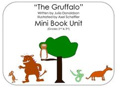 """IMPROVED!! Common Core Standards included in the file ~ Specific Details in the Product Overview ~ Spark your 2nd and 3rd grader's interest for reading by using this mini unit on the popular book """"The Gruffalo"""". Children love this book! There are 6 activity worksheets, and answer keys for 2 of them.  2nd Grade - R.L.2.1., R.L.2.2., R.L.2.3. 3rd Grade - R.L.3.1., R.L.3.2., R.L.3.3."""