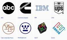 Paul Rand : The legendary pioneer in Graphic Design, most widely known for his designs for corporate identities
