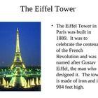 Learn about the amazing country of France through this powerpoint.  ...