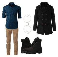Designer Clothes, Shoes & Bags for Women Timberland, Ray Bans, Men's Fashion, Menswear, Urban, Shoe Bag, Polyvore, Collection, Shopping