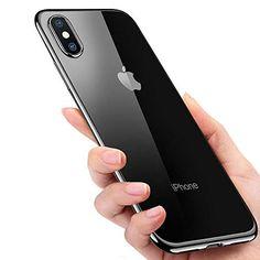 IPhone Xs Hülle IPhone X Handyhülle Opamoo Soft Schutzhülle IPhone Xs  Silikon Hülle Stoßdämpfend Kratzfest Hülle