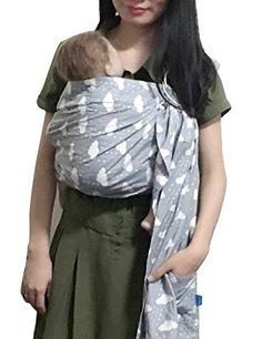29ccabe4219 Amazon.com   Vlokup Baby Sling Ring Sling Carrier Wrap