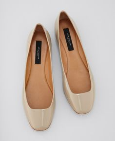 ::Timeless Perfect Patent Leather Flats::