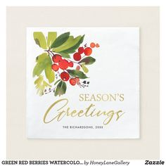 4 DIY ideas to hang a beautiful Christmas wreath on your doorstep! Watercolor Christmas Cards, Watercolor Cards, Watercolor Paintings, Watercolor Projects, Watercolor Ideas, Watercolor Flowers, Christmas Wreaths, Merry Christmas, Primitive Christmas