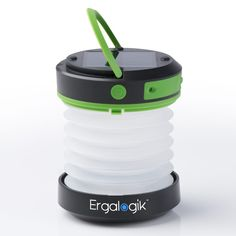 Amazon.com : ErgaLogik Compact Solar Camping Lantern with USB PowerBank Great for Camping, Hiking & Trekking - Best Camping Lantern - Best Solar Lantern - Best Emergency Light : Sports & Outdoors