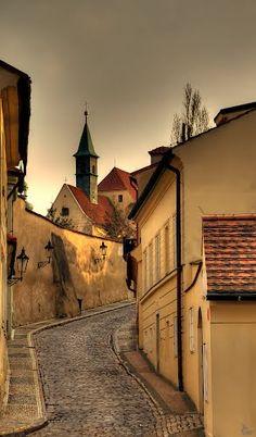 #Praha: Cesta od Nového Světa / #Prague: A Journey from the Nový Svět (New World street) www.svasek.eu