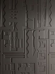abstract wall panels from B