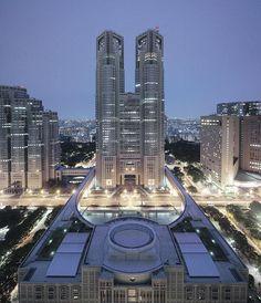 Metropolitan Government Building, Tokyo, Japan