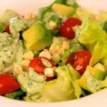 Video: Butter Lettuce Salad w/ Basil Green Goddess Dressing
