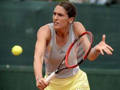Für Andrea Petkovic rückt bei Olympia die Essenz des Sports wieder in den Vordergrund. Foto: Caroline Blumberg